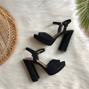 Steve Madden Kierra Leather Platform Sandals 7.5